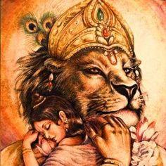 Durga Images, Lord Krishna Images, Krishna Love, Krishna Art, Shree Krishna, Bhagwan Shri Krishna, Lion Wallpaper, Lord Vishnu Wallpapers, Lord Murugan