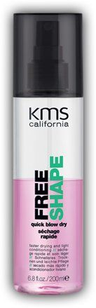 #KMS #California Free Shape quick blow dry