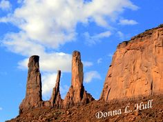 While traveling the Trail of the Ancients National Scenic Byway, save time for photographing the Three Sisters at Monument Valley Tribal Park. #Utah