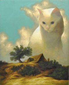 cloudy cat @fanfeet - IT'S BEAUTIFUL :P