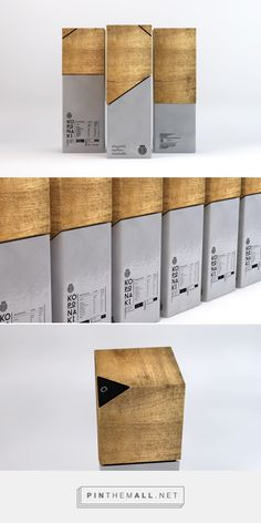 CORONA Greek Olive Oil  Designer: Thomas Kiourtsis  Project Type: Produced, Commercial Work  Client: Koronaki Location: Athen, Greece Packaging Materials: Glass, Wood