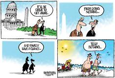 Editorial cartoon on Congress