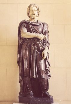 Colossal statue of a Barbarian (Dacian), Louvre Museum, Paris, inv. Romanian People, Roman Sculpture, My Ancestors, Barbarian, Ancient Civilizations, Archaeology, Street Photography, Mythology, Sculptures