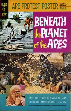 The Gold Key comic-book adaptation of Beneath the Planet of the Apes.