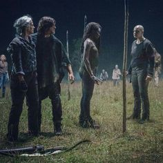 SEASON 10 EP.3 'GHOSTS' THE MEETING WITH ALPHA Walking Dead Season 9, The Walking Dead 2, Amc Twd, Dont Open Dead Inside, Walk The Earth, Rick Grimes, Daryl Dixon, New Shows, Great Artists