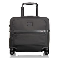TUMI - NEW! 4 Wheeled Compact Brief - Alpha 2 Collection