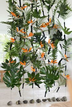 Ideas For Wedding Table Backdrop Receptions Events Exotic Flowers, Tropical Flowers, Tropical Garden, Fresh Flowers, Flower Decorations, Wedding Decorations, Backdrop Wedding, Flower Centerpieces, Wedding Centerpieces