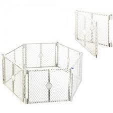 North States Classic Superyard Baby/Pet Gate & Portable Play Yard - 8 Panel - http://www.thepuppy.org/north-states-classic-superyard-babypet-gate-portable-play-yard-8-panel/