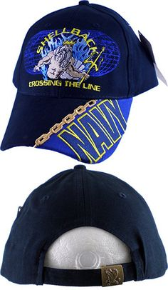 9ea8cd29d9a THE HAT DEPOT Military Licensed 3D Embroidered Veteran Baseball Cap (Navy-U.S.  Navy)
