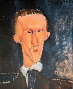 Amedeo Modigliani (after) - Ritratto di Blaise Cendrars