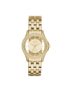 See more. Armani Exchange Lady Hampton Gold Watch Stainless Steel Bracelet,  Gold Watch, Sport Watches, fb721a677b5