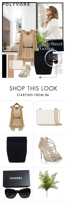 """""""twinkledeals"""" by anida-mostarlic ❤ liked on Polyvore featuring Tory Burch, Jimmy Choo and Chanel"""
