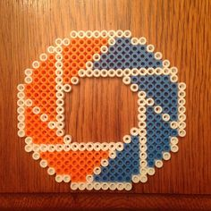 Portal perler beads by thatperlernerd