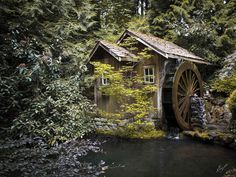 The old mill, Vancouver, Canada