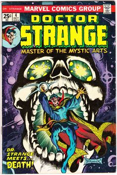 Dr Strange is a fictional character, a superhero who appears in comic books published by Marvel Comics. The character was co-created by writer-editor Stan Lee and artist Steve Ditko, and first appeared in Strange Tales (July Marvel Comics Art, Horror Comics, Marvel Comic Books, Comic Books Art, Comic Art, Book Art, Marvel Characters, Marvel Room, Comic Superheroes
