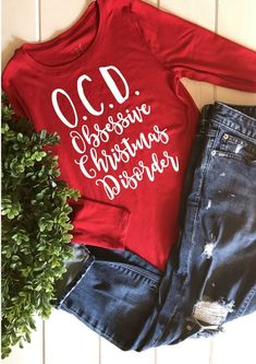 OCD Christmas SVG | Etsy