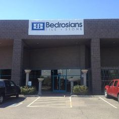 Bedrosians Sign Is Up On Our New Scottsdale Arizona Showroom