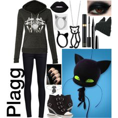 Plagg: Miraculous Ladybug by ender-chic52 on Polyvore
