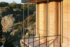 Cabin Lille Arøya by Lund Hagem Architects, between Norwegian rocks and sea Lund, Architects, Rocks, Cottage, Cabin, Sea, Home, Cottages, Cabins