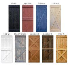 Reclaimed Wood Door, Weathered Wood, Diy Sliding Door, Diy Barn Door, Diy Exterior Door, Outdoor Shutters, Craftsman Decor, Building A Shed, Wood Doors