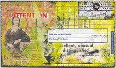 Karenann Young... handmade postcard
