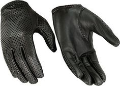Hugger Glove Company Men's Air Pro Sport Motorcycle, Driving, Police Patrol Summer Glove Water Resistant Leather - Black X-Large Leather Motorcycle Gloves, Leather Driving Gloves, Leather Gloves, Leather Men, Motorcycle Gear, Dress Gloves, Knitted Gloves, Womens Scarves, Police Patrol