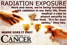 """Officials with TSA (Transportation Security Administration) say these so-called """"advanced imaging technology"""" devices are just as safe as traditional metal detectors. Is this really true? Click through to find out how millimeter waves from a full body scanner may cause cancer. Please re-pin to help us educate others! // The Truth About Cancer"""