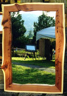 Eastern Red Cedar mirror.
