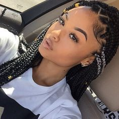 HAIRSPIRATION| Love these #BoxBraids on @illy.il spotted by @EverywheresBeauty❤️ done by #LongBeachStylist @creativexhandsGORG #VoiceOfHair ========================= Go to VoiceOfHair.com ========================= Find hairstyles and hair tips! =========================
