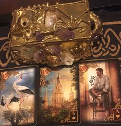 February 17th:  Lenormand Universal Day Spread:  Day:  17: Stork Day + Month: 17 + 2 = 19: Tower Day + Month + Year: 17 + 2 + 9 (2+0+1+6) = 28:  Man Stork: Queen of Hearts:  Water Tower: Six of Spades:  Fire Man: Ace of Hearts:  Water Stork: Neutral Tower: Neutral Man:  Neutral Message: Today in the cards I see you thinking of growth (stork) in regards to a legal matter (tower), which could result in further progress with a male figure (man). Go to:  dnaprofilesapp.com/lenormand #annewalner…