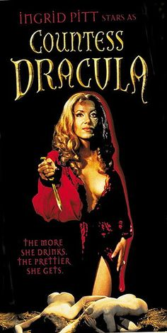Countess Dracula (1971) #HammerHorror #IngridPitt