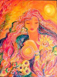 Goddesses/Astrological Goddesses - Ronnie Biccard Artist