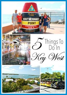 5 Fun Things to Do In Key West, Florida.
