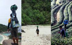 Ο άνθρωπος που περπάτησε χιλιάδες χιλιόμετρα για τις εικόνες του Street View της Google