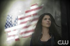 "The 100 --  ""Pilot"" -- Image: HU101c_16592 -- Pictured: Marie Avgeropoulos as Octavia -- Photo: Cate Cameron/The CW -- © 2014 The CW Network. All Rights Reserved."