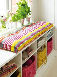 DIY: long cushion