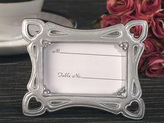 Stylish Silver Photo Frame Favor