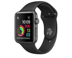 Apple Watch Series 2, 42mm Space Gray Aluminum Case with Black Sport Band  http://store.apple.com/xc/product/MP062LL/A