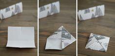 s i n n e n r a u s c h: [Nachmachtipp] Origami Zackenstern