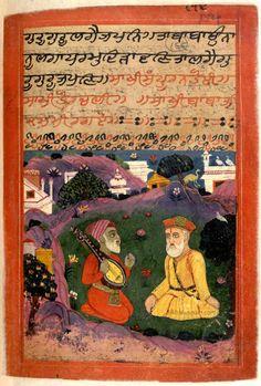 Janamsakhi manuscript.