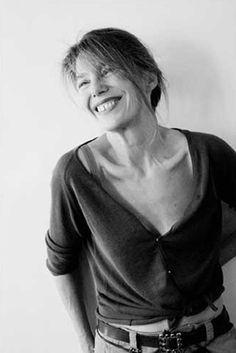 Jane Birkin, portrait, photographie noir et blanc, chanteuse ©Florence Jamart