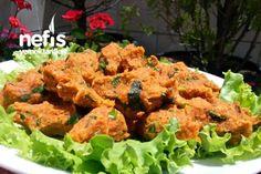 Tam Ölçülü Mercimek Köftesi Tarifi nasıl yapılır? 137 kişinin defterindeki bu tarifin resimli anlatımı ve deneyenlerin fotoğrafları burada. Yazar: Mutfaktaki Melek Recipe Mix, Soup And Salad, Tandoori Chicken, Food And Drink, Pasta, Vegetables, Cooking, Ethnic Recipes, Kitchens