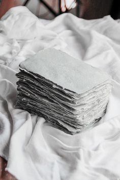 Making Paper with Newspaper and Fabric Scraps — SARAH KIRSTEN - Truth be told, I was hoping this would be a good way of using my fabric scraps… if I was making h - Fabric Paper, Fabric Scraps, Paper Art, Paper Crafts, Satin Fabric, Cotton Fabric, Seed Paper, Diy Papier, Paperclay