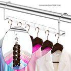 6pcs WINOMO Multifunction Wardrobe Closet Bar Clothes Coat Hanger Organizer
