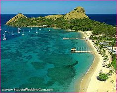 "St. Lucia- Proud to say, ""I have been there and loved every moment!"" Such a beautiful place!"