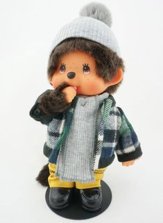"""2fed2697 A Monchhichi is a """"sweet little monkey"""", developed in Japan. These little"""