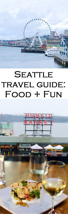 3 Days in the Emerald City. What to do and where to eat in Seattle, Washington. Day trips, restaurants reviews, and great views in the city.