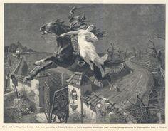 Lenore - illustration de  Frank Kirchbach - 1896