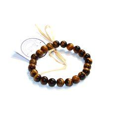 Naramek+TYGRI+OKO+Náramek+je+vyroben+z+TYGŘÍHO+OKA+na+pružném+lanku+o+průměru+kuliček+8+mm.+Délka+cca+19+cm Bracelets, Jewelry, Jewlery, Bijoux, Schmuck, Jewerly, Bracelet, Jewels, Jewelery