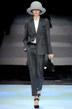 Farb-und Stilberatung mit www.farben-reich.com - Emporio Armani fashion collection, autumn/winter 2014